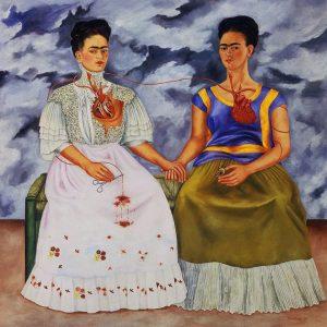 Las dos Fridas. 1931. Museo de arte moderno, México